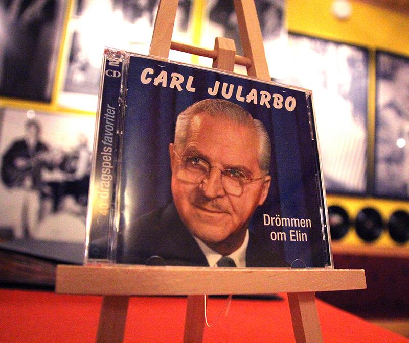 carl Jularbo musik på cd säljes